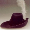 Cavalier Hat With Plume